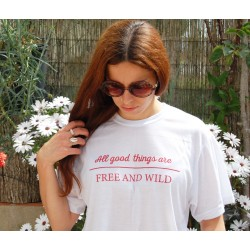 "Camiseta ""All good things"""