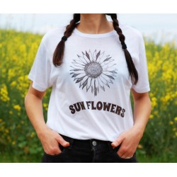 "Camiseta ""Sunflowers"""