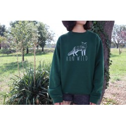 "Sudadera ""Run Wild"" (Green)"