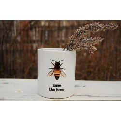 "Taza ""Save the bees"""
