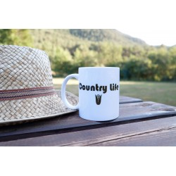 "Taza ""Country Life"""