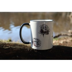 "Taza ""Music flowers"""