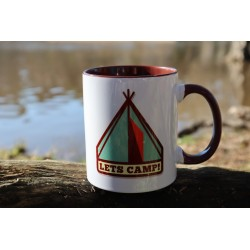 "Taza ""Lets Camp"""