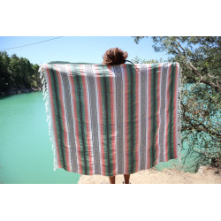 Colorado Blanket (Verde/Rosa)